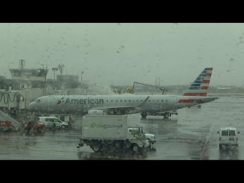 Nor'easter brings some airports to a complete standstill