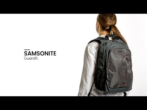 a70d054dc99 Samsonite Guardit Laptop Backpack - Bagageonline - YouTube
