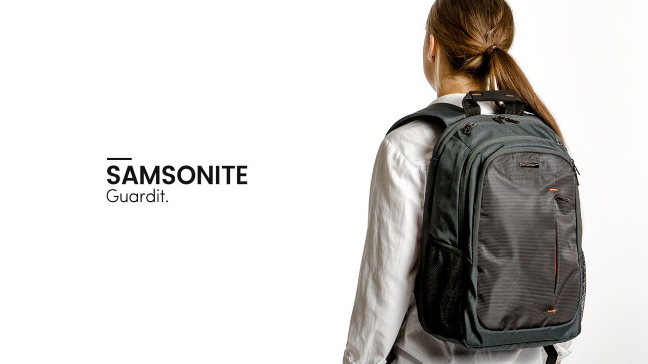 f731a2443c Samsonite Guardit Laptop Backpack - Bagageonline - YouTube