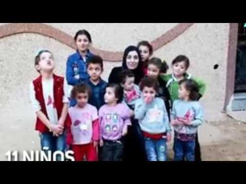 La joven de 23 años con 11 hijos