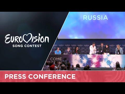 Sergey Lazarev (Russia) Press Conference