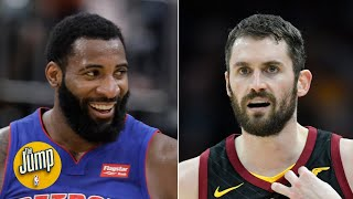 What does the Andre Drummond trade mean for Kevin Love? | The Jump