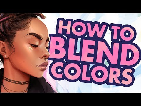 How To BLEND COLORS In Clip Studio Paint
