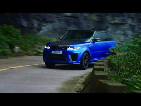 Range Rover Sport SVR   contra cronometru pe Tianmen