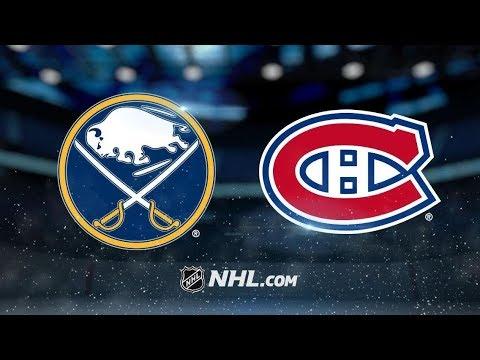 Buffalo Sabres vs Montreal Canadiens (6-5) – Nov. 8, 2018 | Game Highlights | NHL 2018