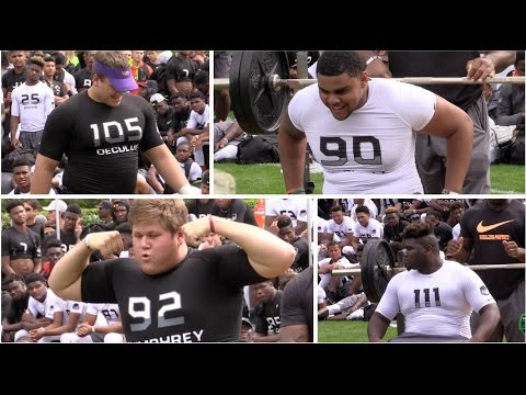 Bench Press Strongest Man Final  The Opening 2016