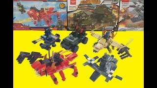 Toys For Kids | Military Vehicles, Tanks, Helicopters | Assembling Toys For Children