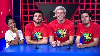 DOUBLE DARE WITH LIZA & THE VLOG SQUAD!!