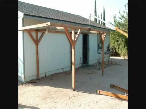How I Built A Rolling Carport For little money