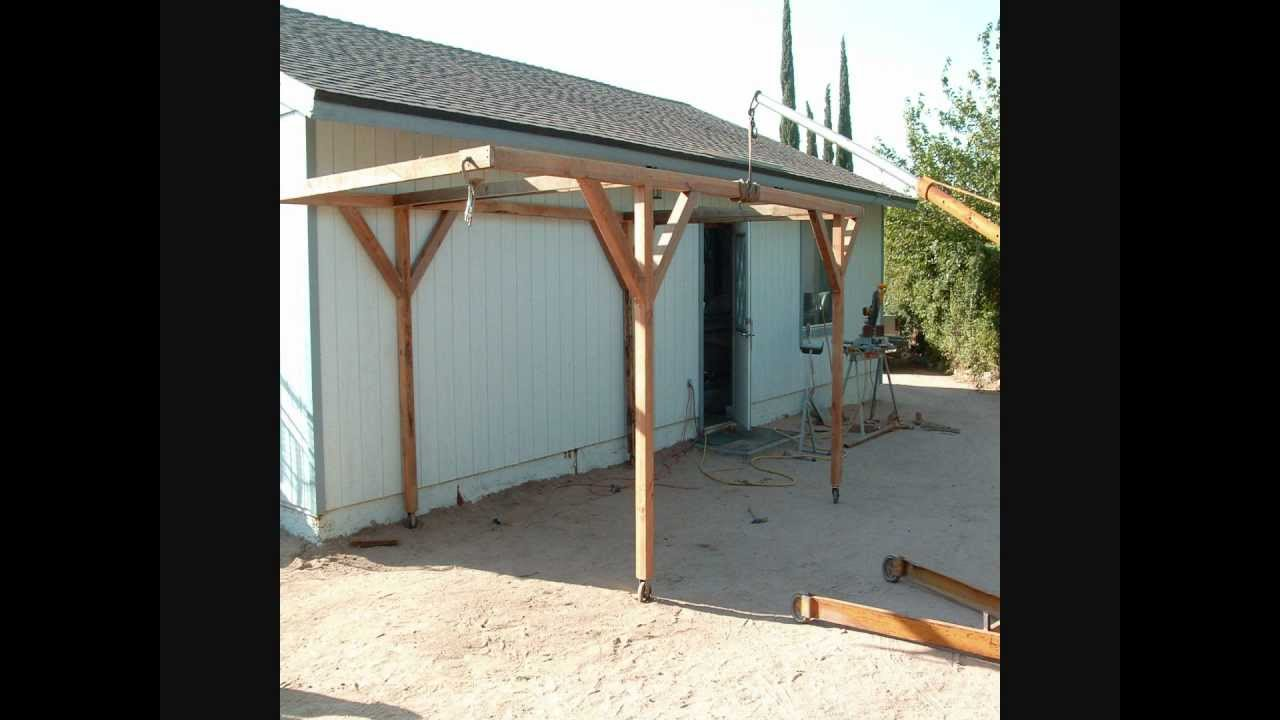 How i built a rolling carport for little money youtube how i built a rolling carport for little money mikes diy solutioingenieria Choice Image