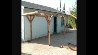 How I Built A Rolling Carport For Little Money