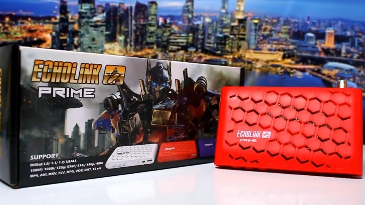 تعرف على ارخص جهاز ECHOLINK PRIME يتوفر على Micam pro2 و MiTv iptv و  Multistream
