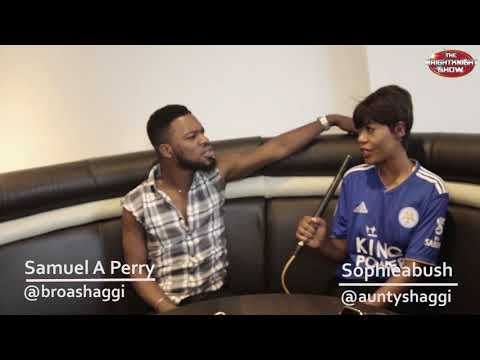 Broda shaggi & Aunty Shaggi Exclusive funny Skit for the Brightknightshow (Hilarious)