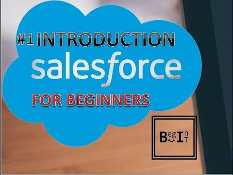Salesforce For Beginners - 1. Introduction To Salesforce | Salesforce CRM Developement Tutorials