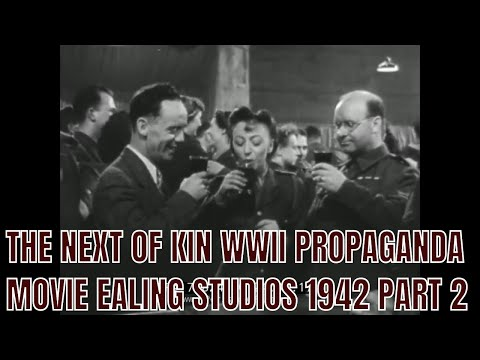 THE NEXT OF KIN  WWII PROPAGANDA MOVIE  EALING STUDIOS 1942 PART 2 77824