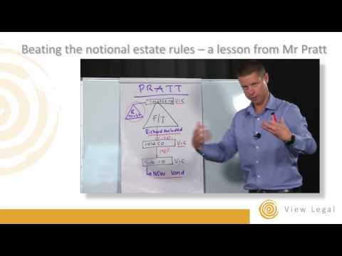 Beating the notional estate rules – a lesson from Mr Pratt by Matthew Burgess