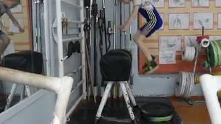 Отегов Степан, 11 лет, св 31 кг Прыжки 5х5