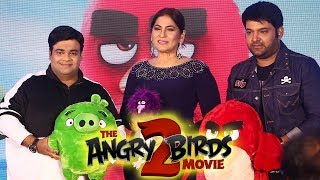 Angry Birds Movie 2 Hindi Trailer Launch with Kapil Sharma, Kiku Sharda & Archana Puran Singh