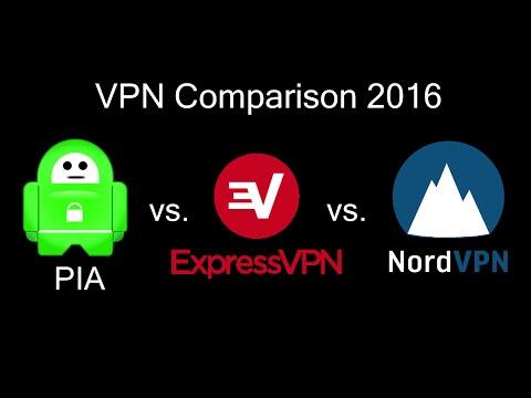 Private Internet Access vs ExpressVPN vs NordVPN