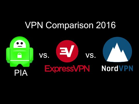 Private Internet Access vs ExpressVPN vs NordVPN