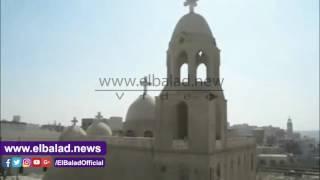محافظ المنيا يزور دير السيدة العذراء بجبل الطير.. فيديو وصور