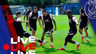 15 minutes d entraînement avant Stade Brestois Paris Saint Germain