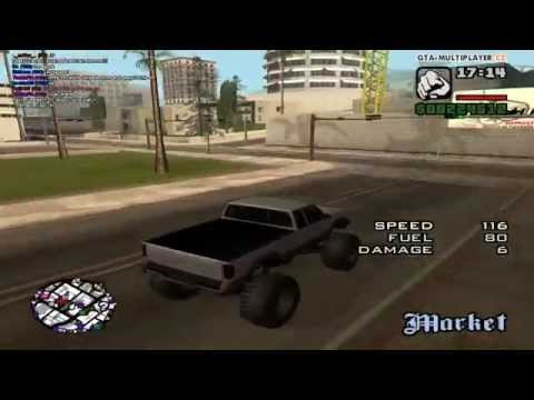 GTA San Andreas: Monster Truck Drifting