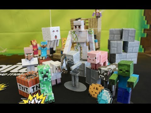 Papercraft Minecraft Papercraft Studio - Android & iOS Trailer