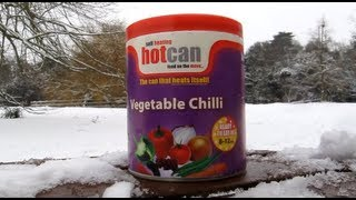HotCan - The Self Heating Meal in a can - Detailed