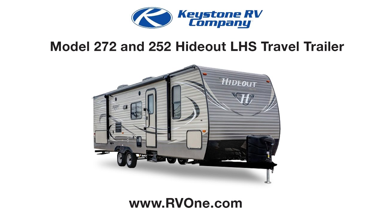 model 272 and 252 hideout lhs travel trailer youtube