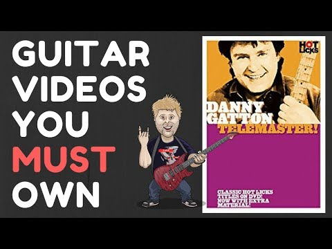 Danny Gatton Telemaster - Guitar Videos You Must Own! Levi Clay