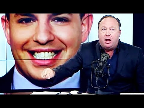 Alex Jones Declares Holy War On CNN Journalist