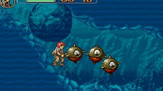 Metal Slug Advance - Unused Areas & Test Stages