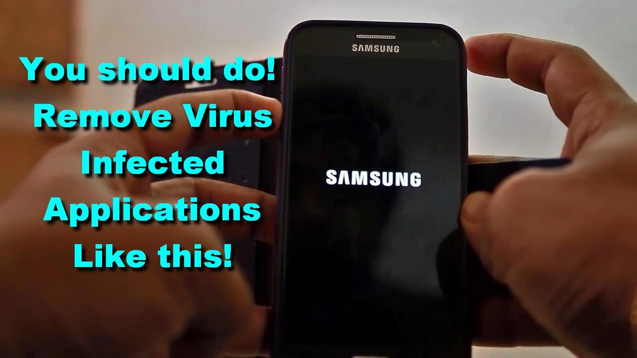 Phone Remove Virus Android Phone how to remove virus infected applications from android device device