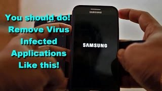 How to Remove Virus Infected applications from Android device