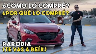 COMPRE UN MAZDA 3 A MIS 22 AÑOS PARODIA CORVETTE Z07    ALFREDO VALENZUELA