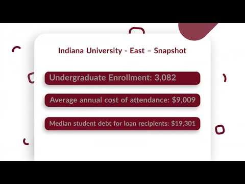 Indiana University East Tuition, Admissions, News & more
