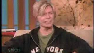 Bowie interviewed by Ellen DeGeneres