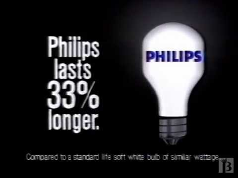 Philips light bulbs commercial 1988 youtube aloadofball Choice Image