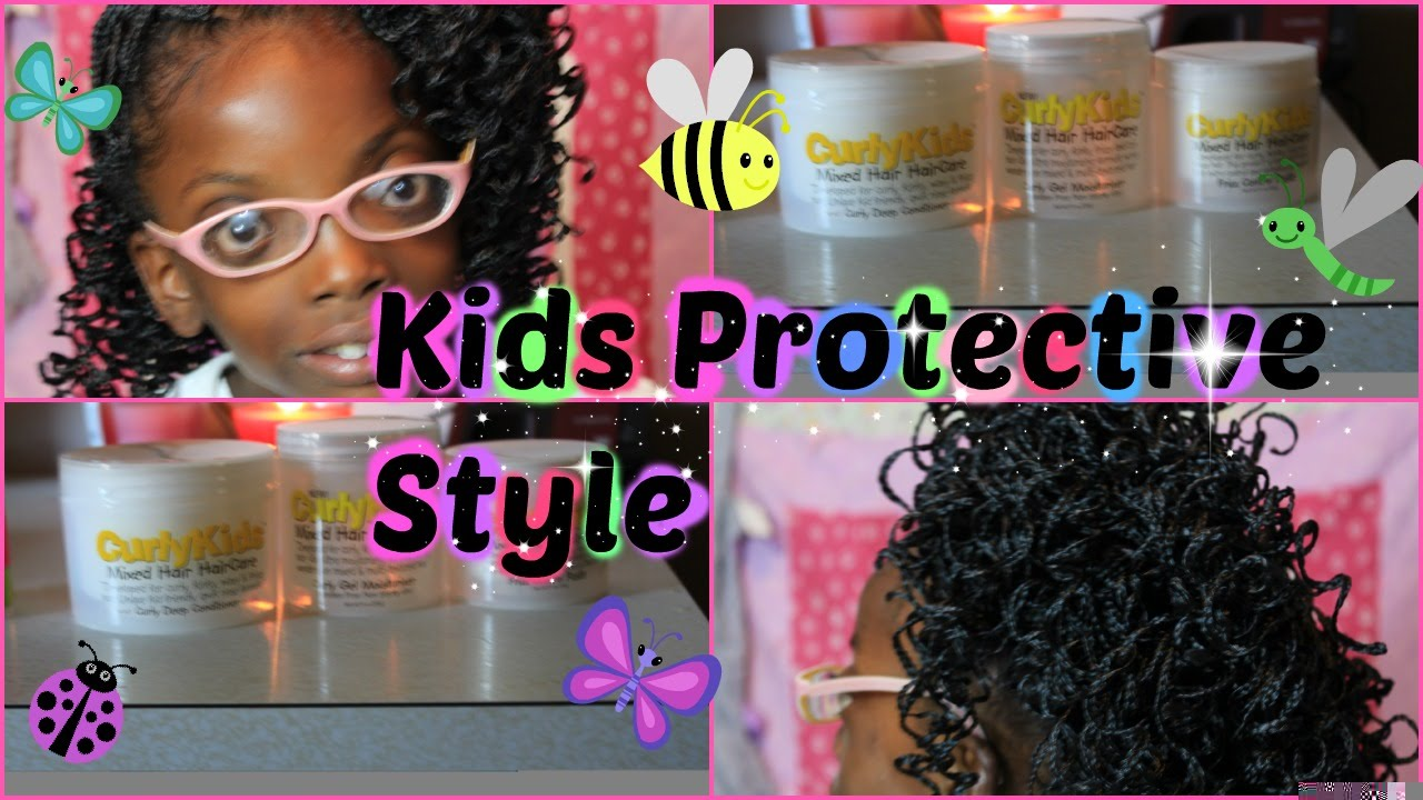 Kids Crochet Braids/ Curly Kids Products for Natural Hair - YouTube