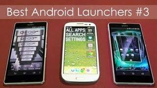 Top 30 Best Android Launchers 2013 - Be Different! (Xperia Z & Galaxy S3) - Pt 3 - Android Tips #16