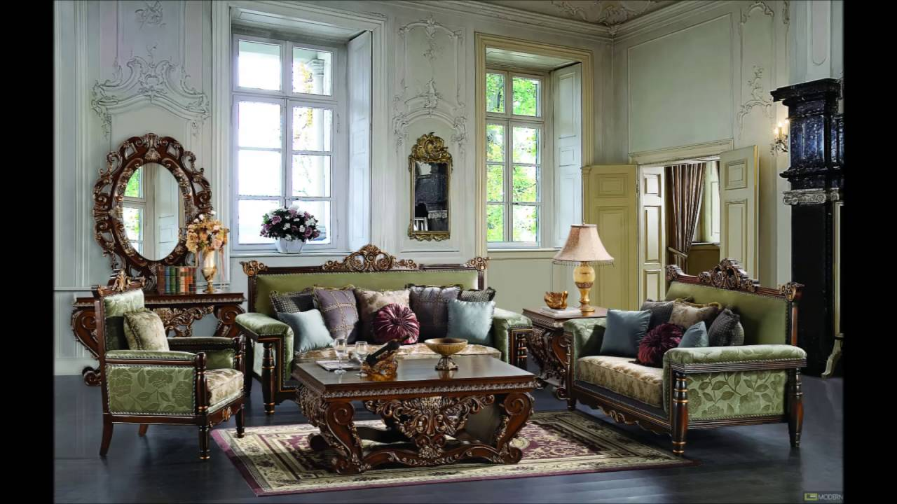 luxury living room sets. Interior Living Room Designer Luxury Classic Furniture  YouTube