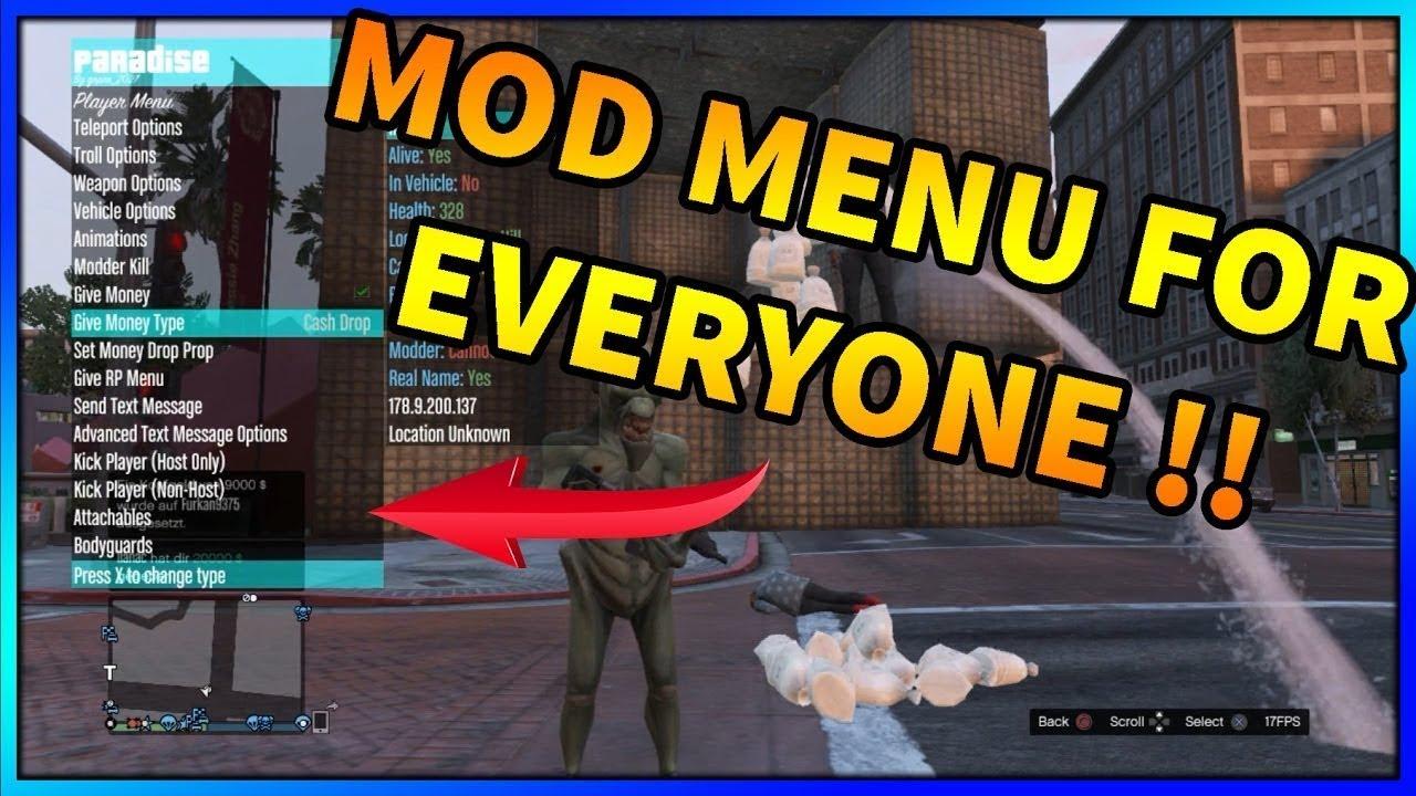 GTA V - GIVING PLAYERS MOD MENUS / CO HOST FOR FREE! (GTA 5 Co Host)