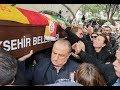 Demet Akbağ'ın eşi Zafer Çika'nın cenaze namazına çok sayıda ünlü isim katıldı
