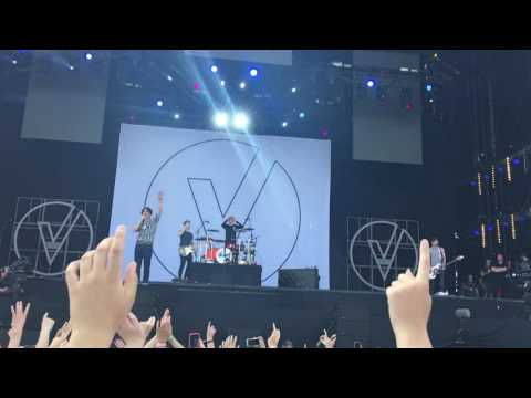 The vamps Isle of Wight festival