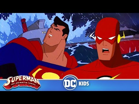 Superman: The Animated Series   Super Flash Team Up   DC Kids