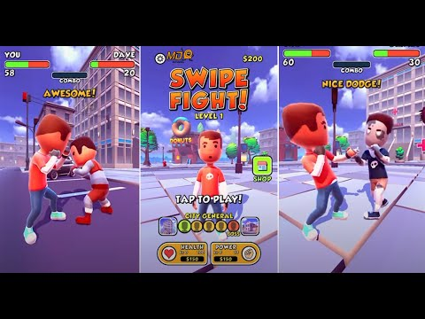 Swipe Fight! - Gameplay IOS