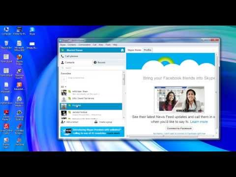 Instant Messaging with Skype