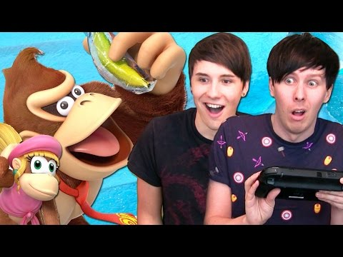 MONKEYING AROUND - Dan and Phil Play: Donkey Kong Country Tropical Freeze