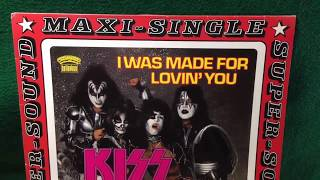 """Kiss – I Was Made For Lovin' You (Extended Version) 12"""" Vinyl 1979"""